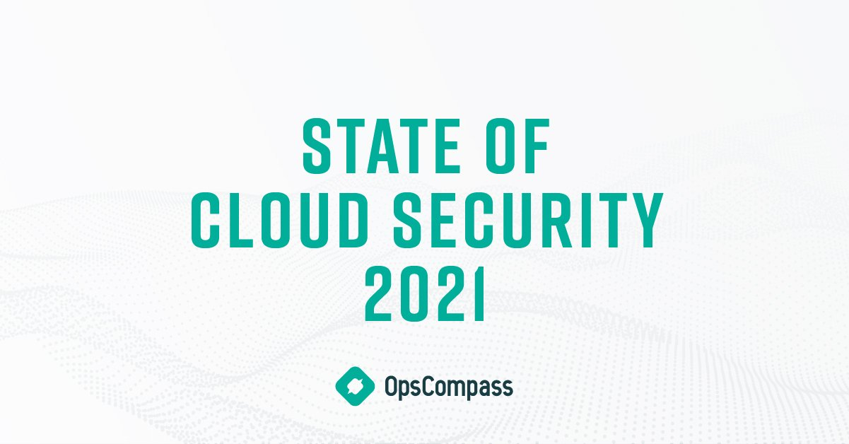 State of Cloud Security 2021 header