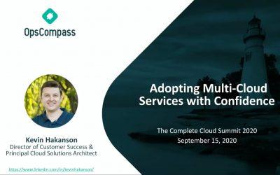 Adopting Multi-cloud with Confidence Screenshot