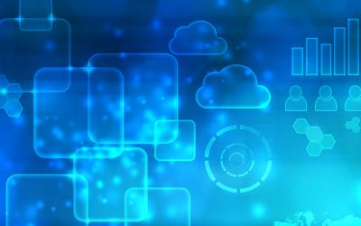 cloud strategy blue image