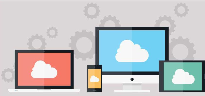 cloud being displayed on many screen types