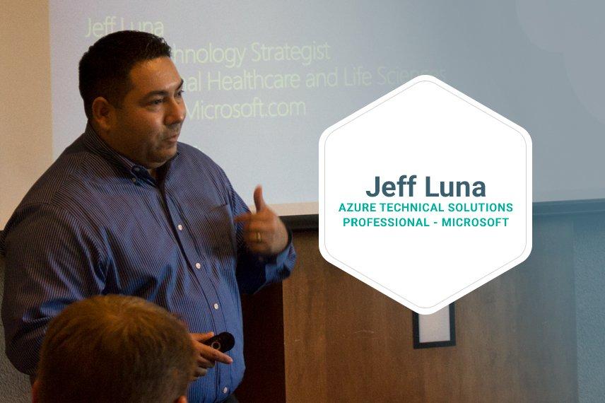 eff Luna, Azure Technical Solutions Professional at Microsoft