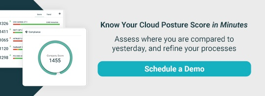 Know Your Cloud Posture Score in Minutes. Schedule Demo