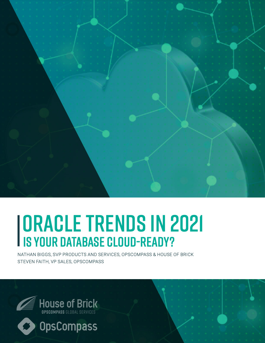 Oracle Trends Report 2021 Cover